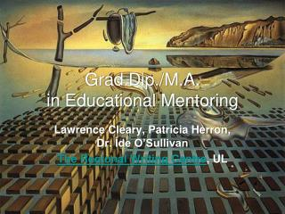 Grad.Dip./M.A.  in Educational Mentoring