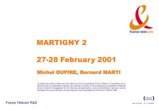 MARTIGNY 2 27-28 February 2001