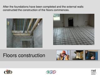 Floors construction