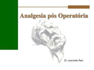 Analgesia pós Operatória