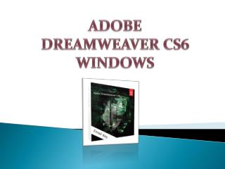 Adobe Dreamweaver Cs6 Windows