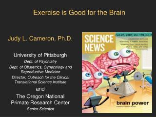 Exercise is Good for the Brain