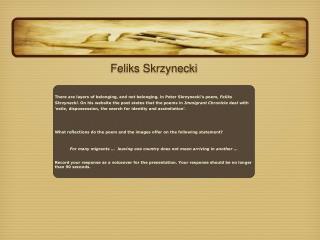 Feliks Skrzynecki