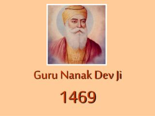 Guru Nanak Dev Ji 1469
