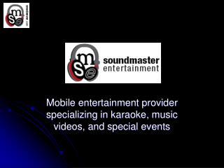 SoundMaster Entertainment