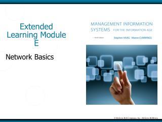 Extended Learning Module E