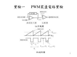 實驗一    PWM 震盪電路實驗