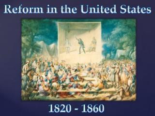 1820 - 1860