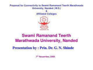 Swami Ramanand Teerth Marathwada University, Nanded