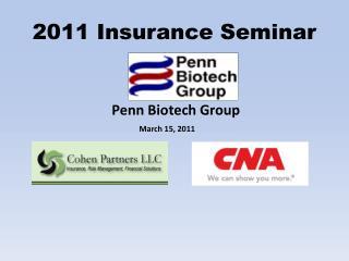 2011 Insurance Seminar