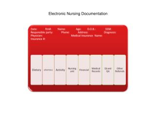Electronic Nursing Documentation