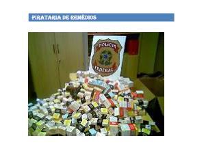 Pirataria é crime...
