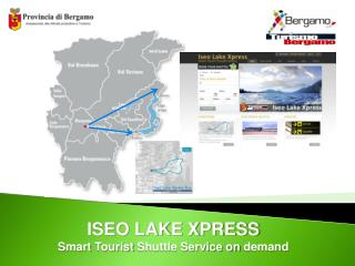 ISEO LAKE XPRESS Smart  Tourist  Shuttle Service on  demand
