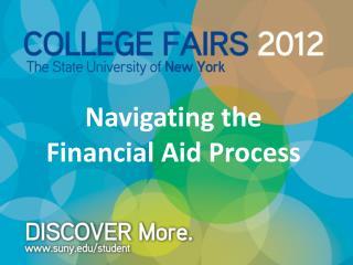 Navigating the Financial Aid Process