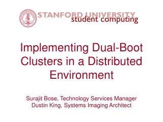 Implementing Dual-Boot Clusters in a Distributed Environment