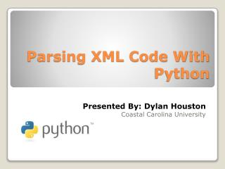 Parsing XML Code With Python