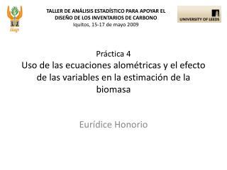 Eurídice Honorio