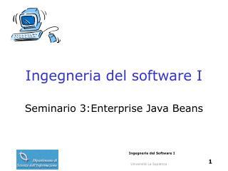 Ingegneria del software I