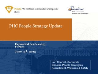 PHC People Strategy Update