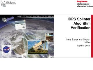 IDPS Splinter Algorithm Verification