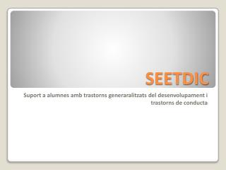 SEETDIC