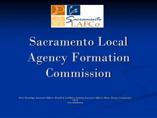 Sacramento Local Agency Formation Commission