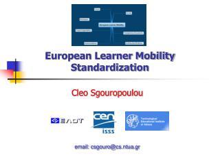 European Learner Mobility Standardization