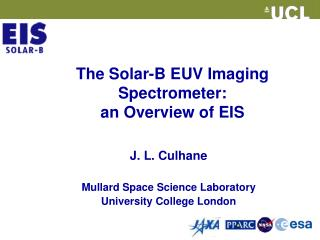 The Solar-B EUV Imaging Spectrometer: an Overview of EIS
