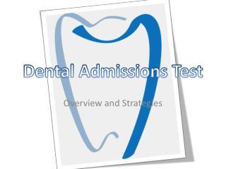 Dental Admissions Test