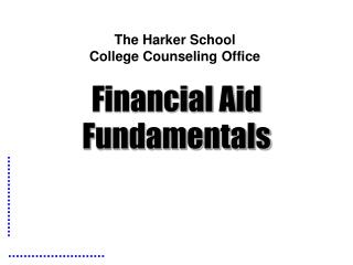The Harker School  College Counseling Office