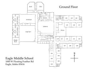 Eagle Middle School 1000 W Floating Feather Rd Eagle, Idaho 83616