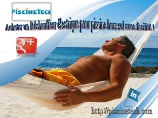 Acheter un Réchauffeur électrique pour piscine hors sol avec