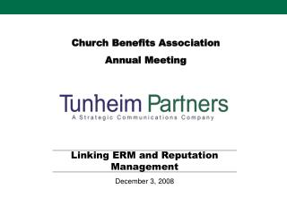 Church Benefits Association  Annual Meeting