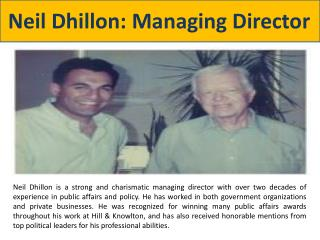 Neil Dhillon: Managing Director