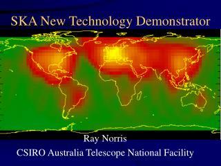 SKA New Technology Demonstrator