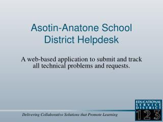 Asotin-Anatone School District Helpdesk