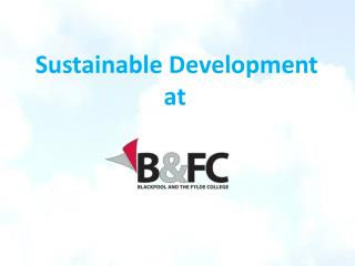 Sustainable Development at
