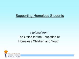 Supporting Homeless Students