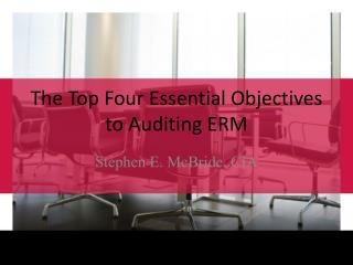 The Top Four Essential Objectives to Auditing ERM