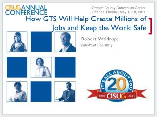 How GTS Will Help Create Millions of Jobs and Keep the World Safe