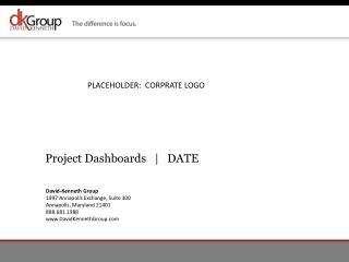 Project Dashboards   |    DATE