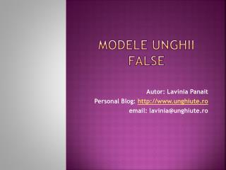 Modele Unghii Prezentate de Lavinia Panait