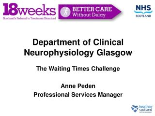Department of Clinical Neurophysiology Glasgow