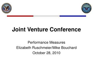 Joint Venture Conference
