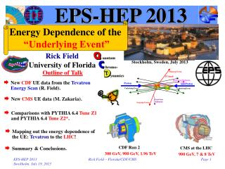 EPS-HEP 2013
