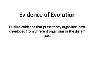 Fossils can be placed in a time sequence to see patterns