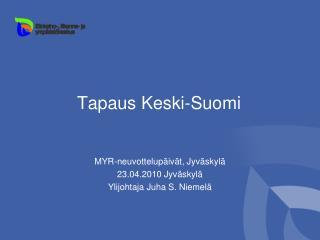 Tapaus Keski-Suomi