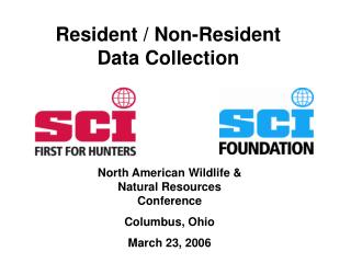 Resident / Non-Resident Data Collection