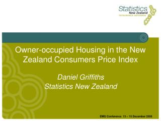 Owner-occupied Housing in the New Zealand Consumers Price Index