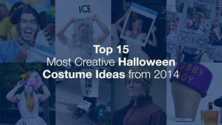 Top 15 Most Creative Halloween Costume Ideas for 2015